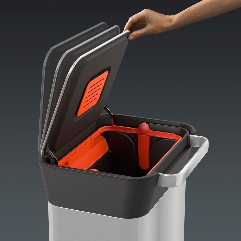 Joseph Joseph Intelligent Waste kosz na odpady z systemem zgniatania