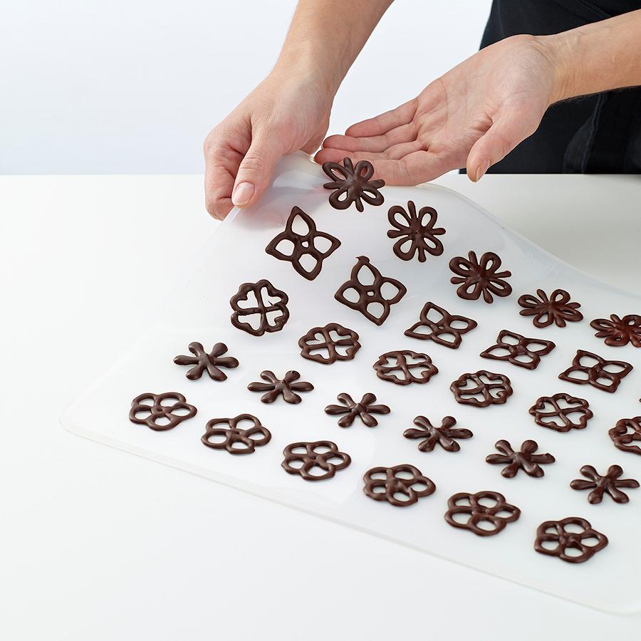 Lekue Decomat zestaw do dekoracji z czekolady