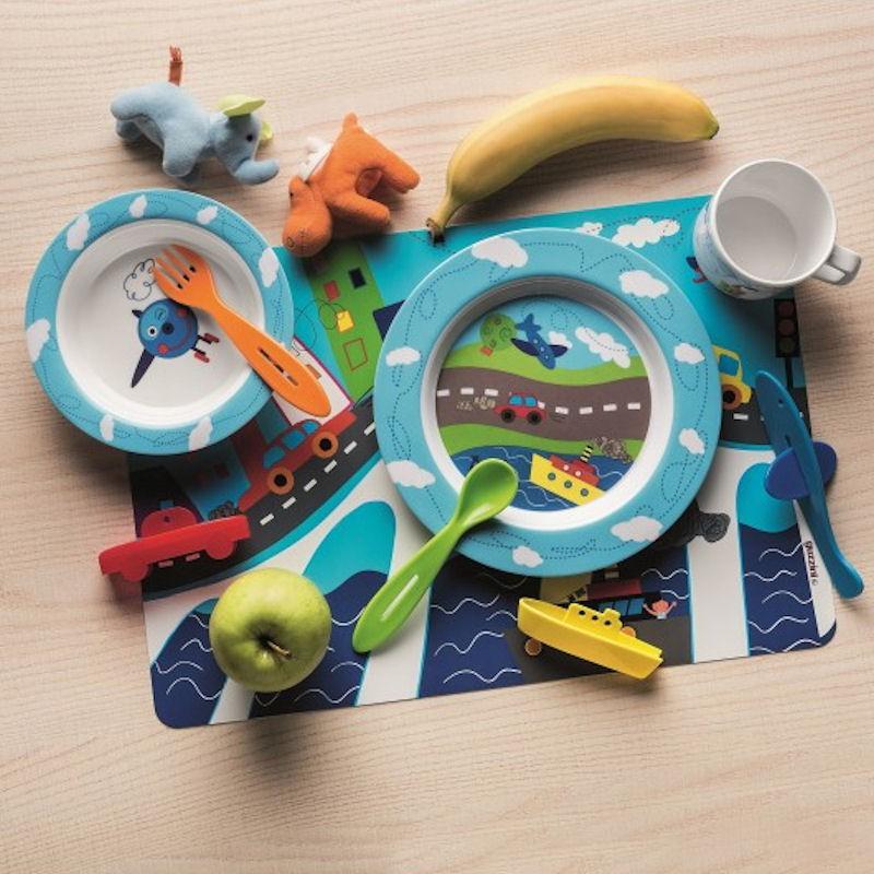 Guzzini BIMBI trzyczęściowy zestaw sztucców dla dzieci