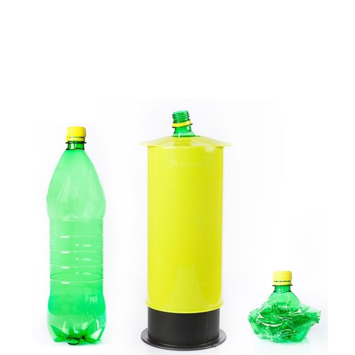 Meliconi Omega zgniatarka do butelek, puszek i kartonów