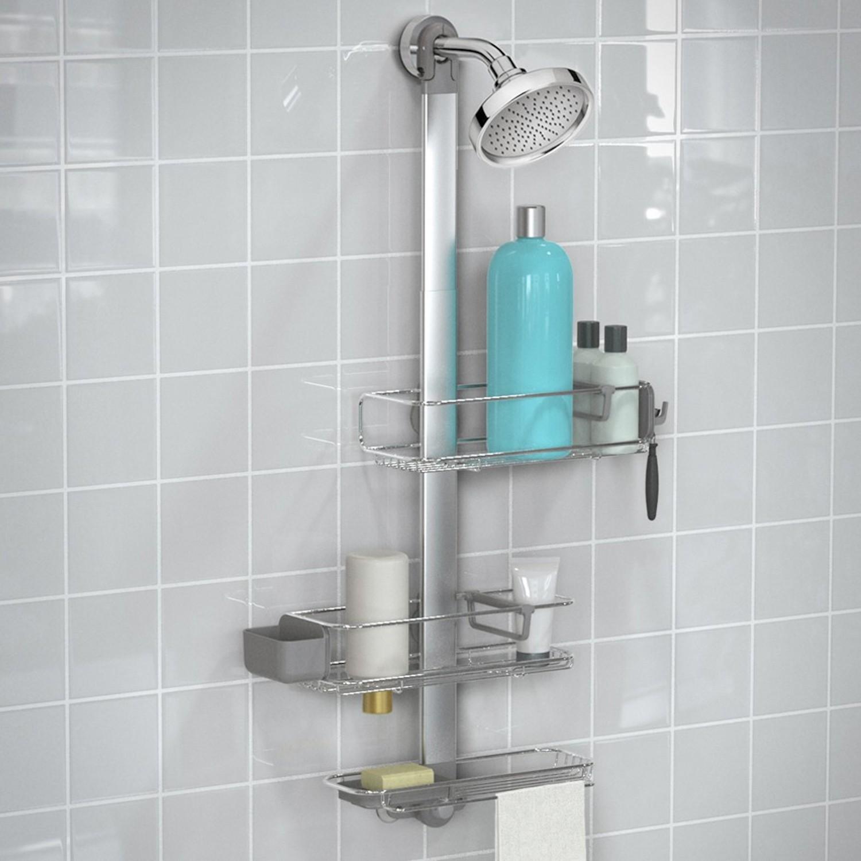 SimpleHuman Plus Koszyki prysznicowe-regulowane