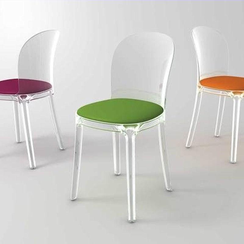 MAGIS Vanity Krzesło przezroczyste