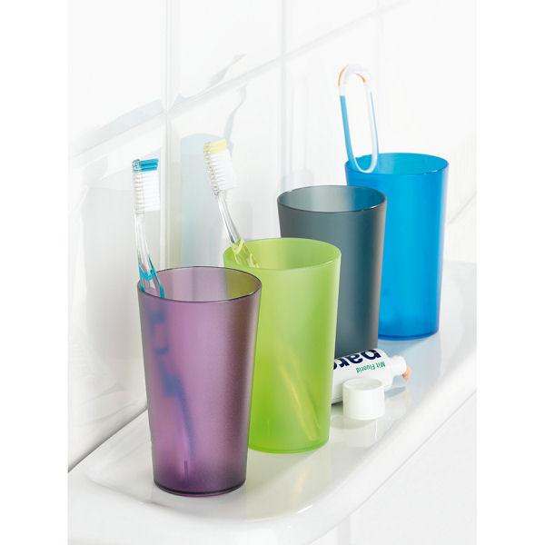 Koziol Rio kubek łazienkowy, kolor transparentny