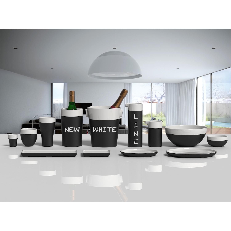 Magisso White Line Cooling Ceramics Cooler