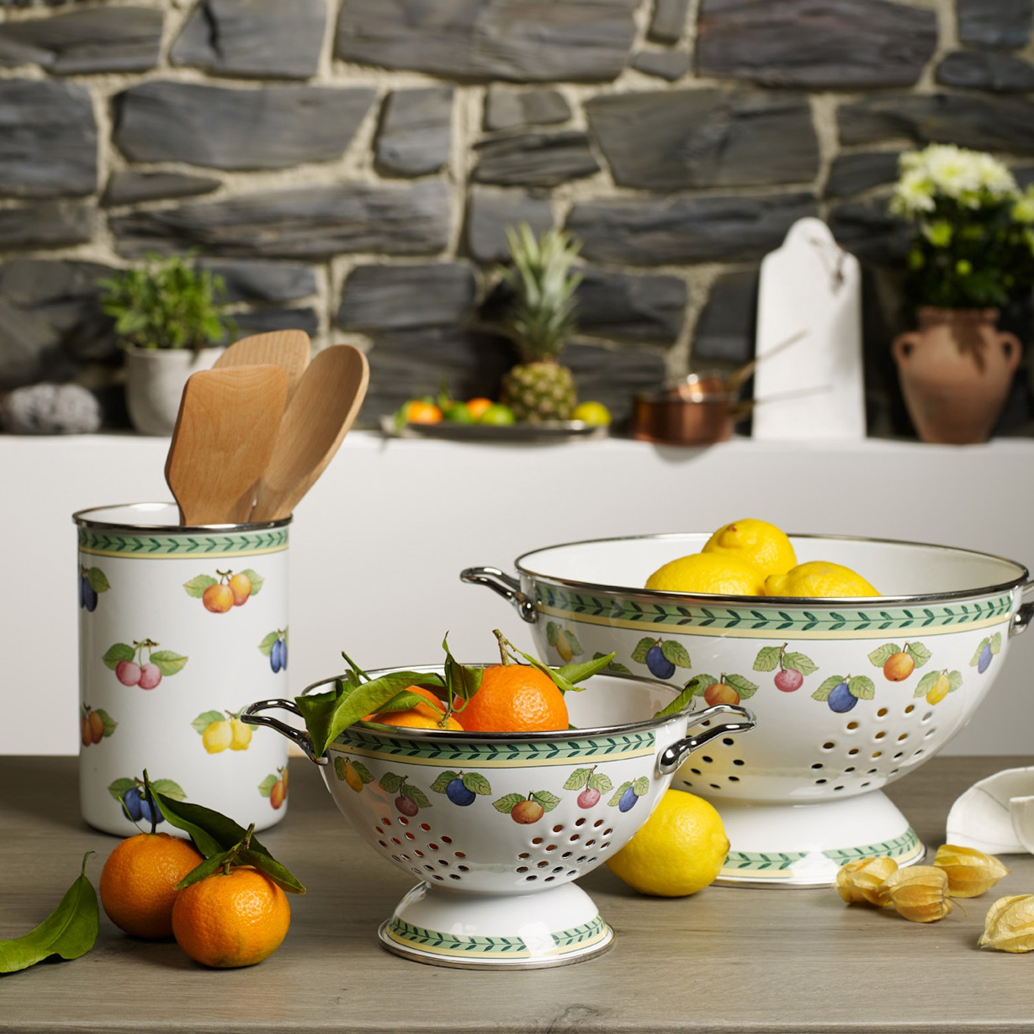 French Kitchen Garden: Durszlak S Villeroy & Boch French Garden Kitchen