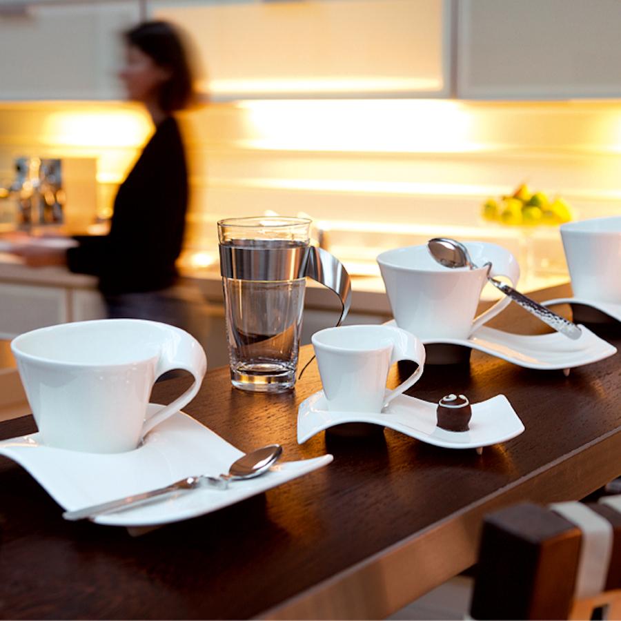 Villeroy & Boch New Wave Caffe filiżanka do espresso ze spodkiem