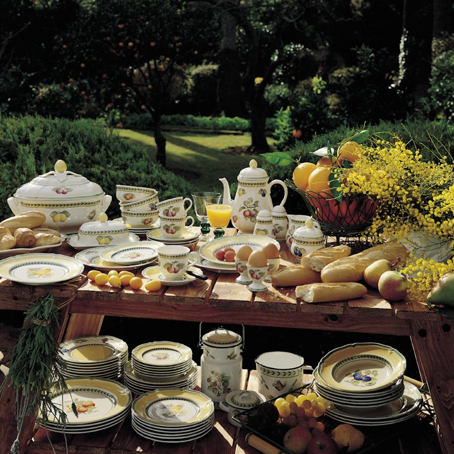 Talerz Bufetowy Villeroy & Boch French Garden Fleurence 10
