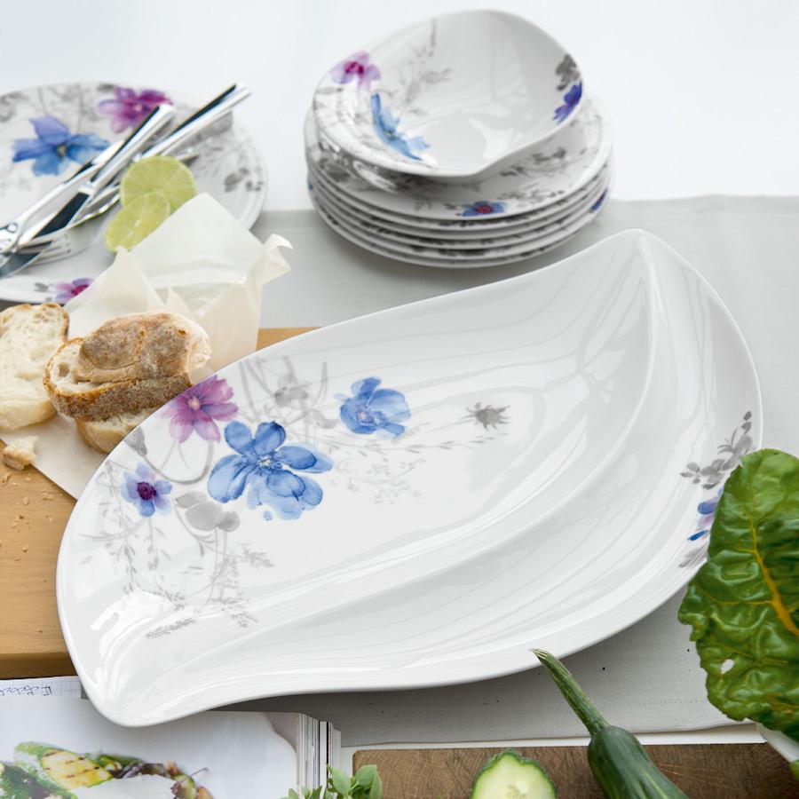 miska g boka villeroy boch mariefleur gris serve salad. Black Bedroom Furniture Sets. Home Design Ideas