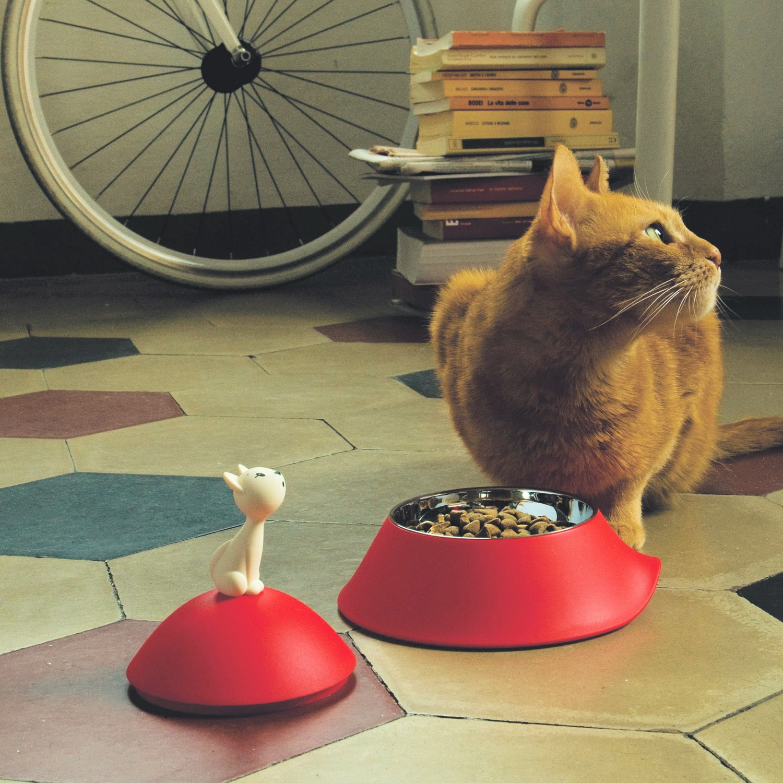 A di Alessi Mio miska dla kota