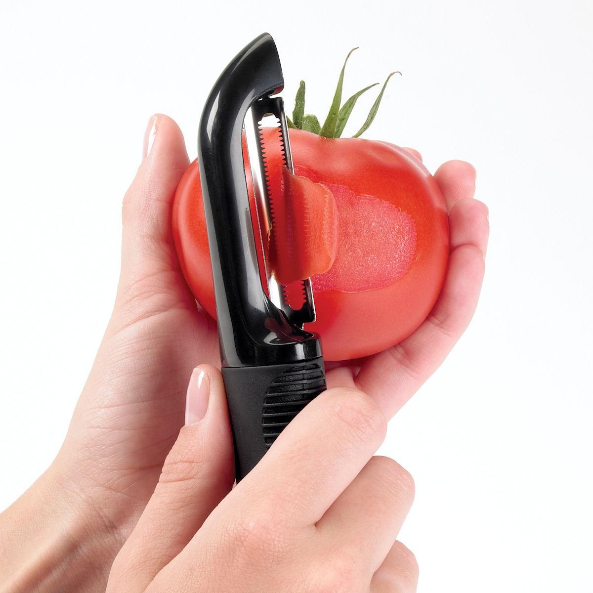 Oxo Good Grips obieraczka do warzyw ząbkowana