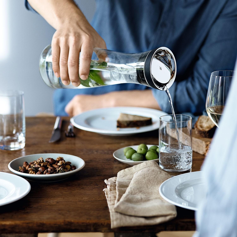 WMF Basic karafka do wody ze dwiema szklankami