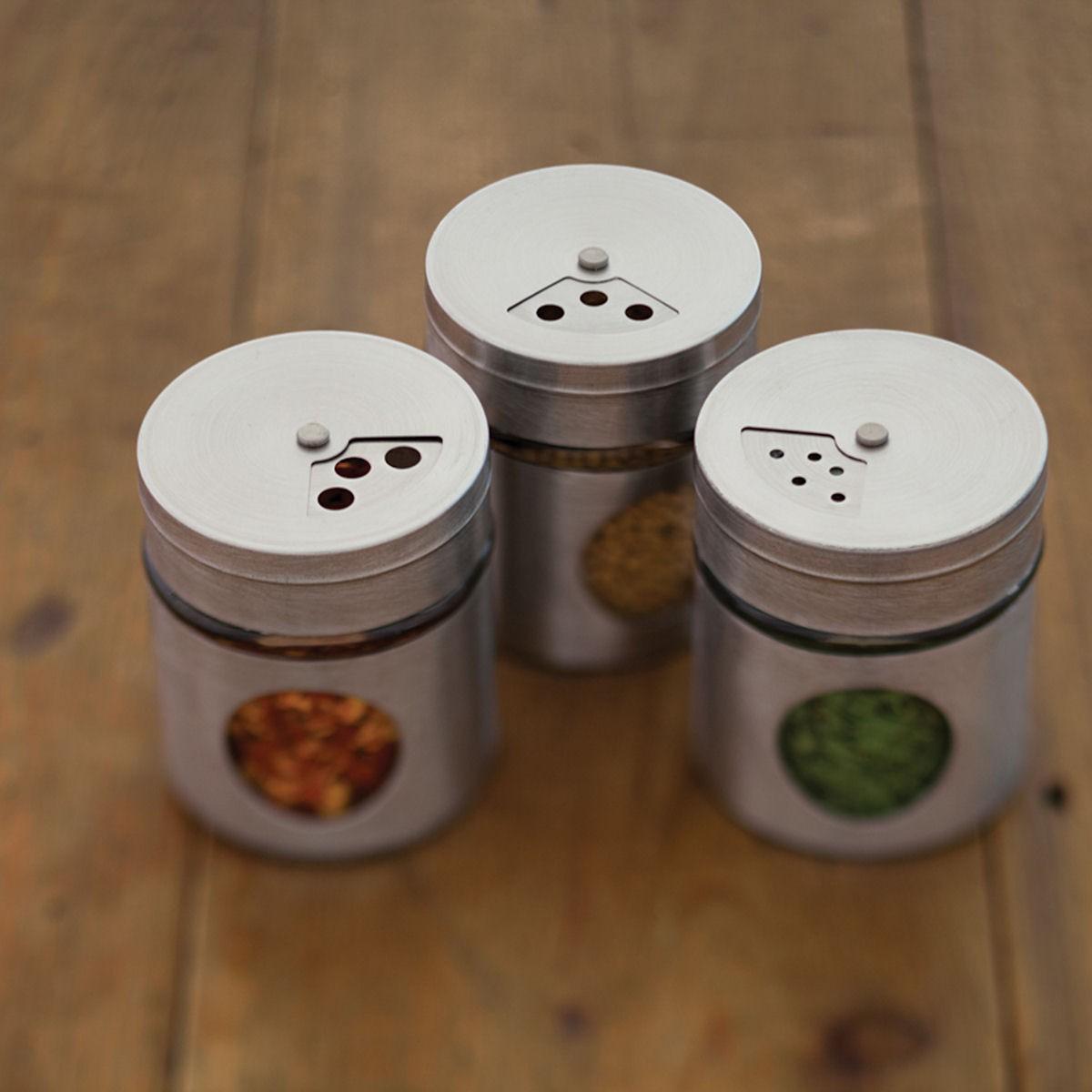 Kitchen Craft Pojemniczki na przyprawy 6 szt