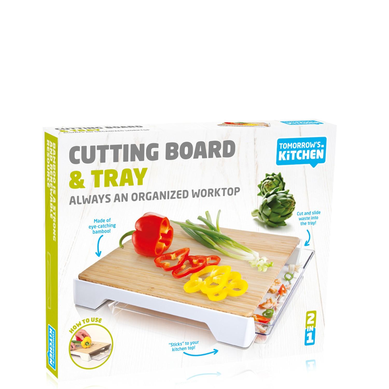 Tomorrows Kitchen Bambusowa deska do krojenia z szufladą