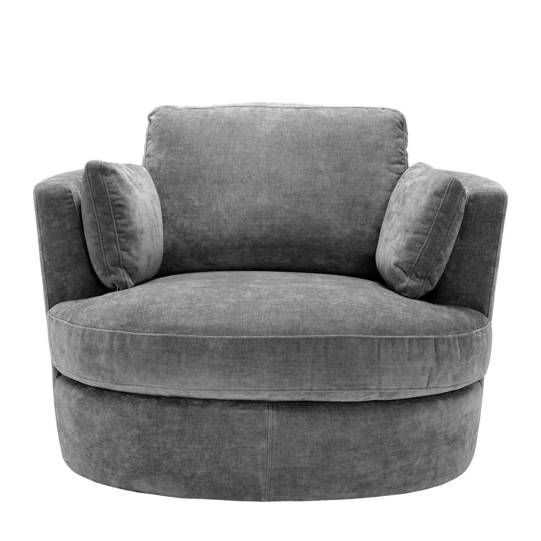 Eichholtz Clarissa fotel obrotowy