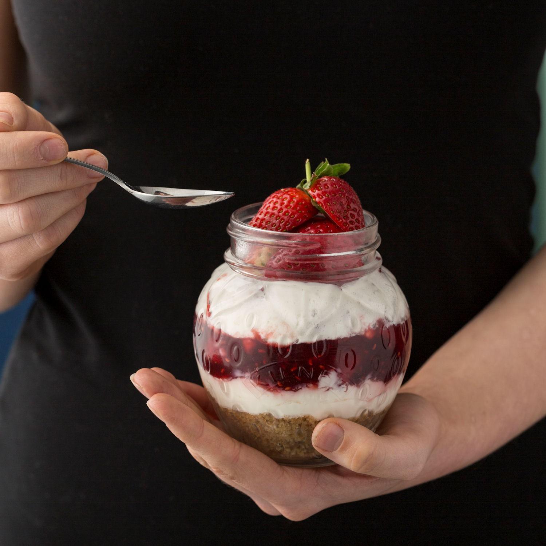 Kilner Fruit Słoik truskawka