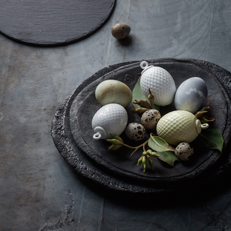 LYNGBY Rhombe Zawieszka jajko