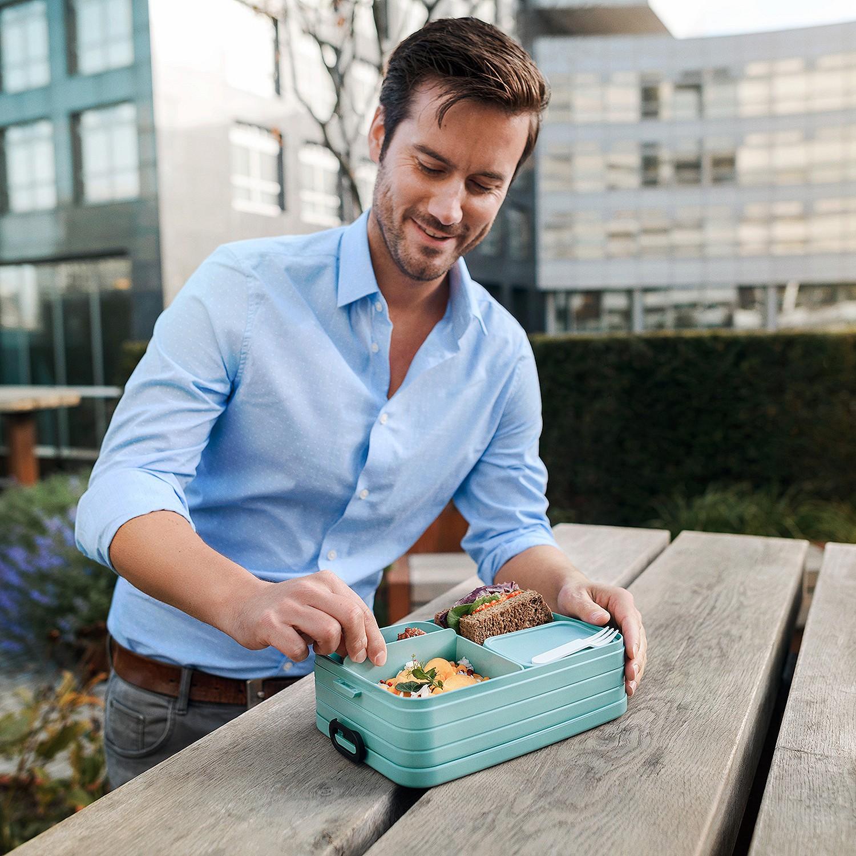 Mepal Take a Break Lunchbox Bento duży, Nordic Green