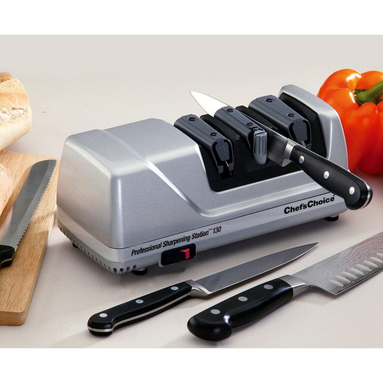 Chefs Choice Professional Elektryczna ostrzałka do noży 130