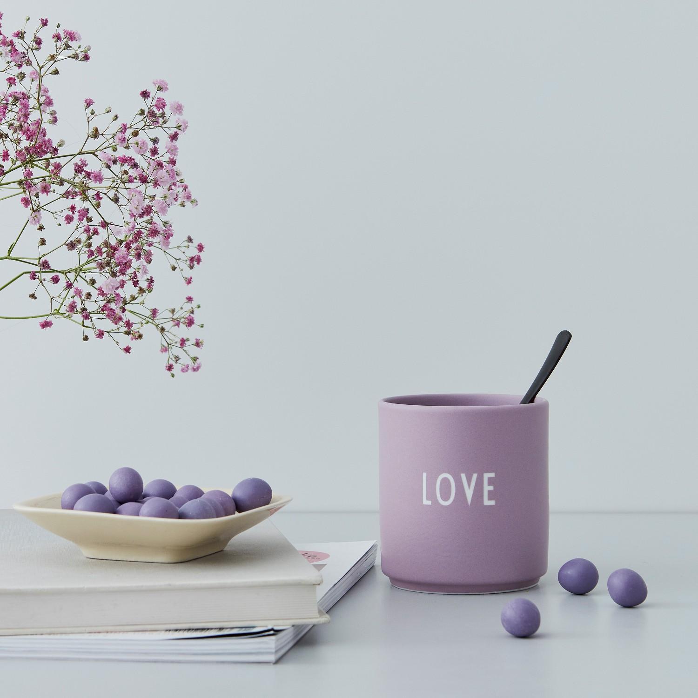 DESIGN LETTERS Favourite Kubek Love