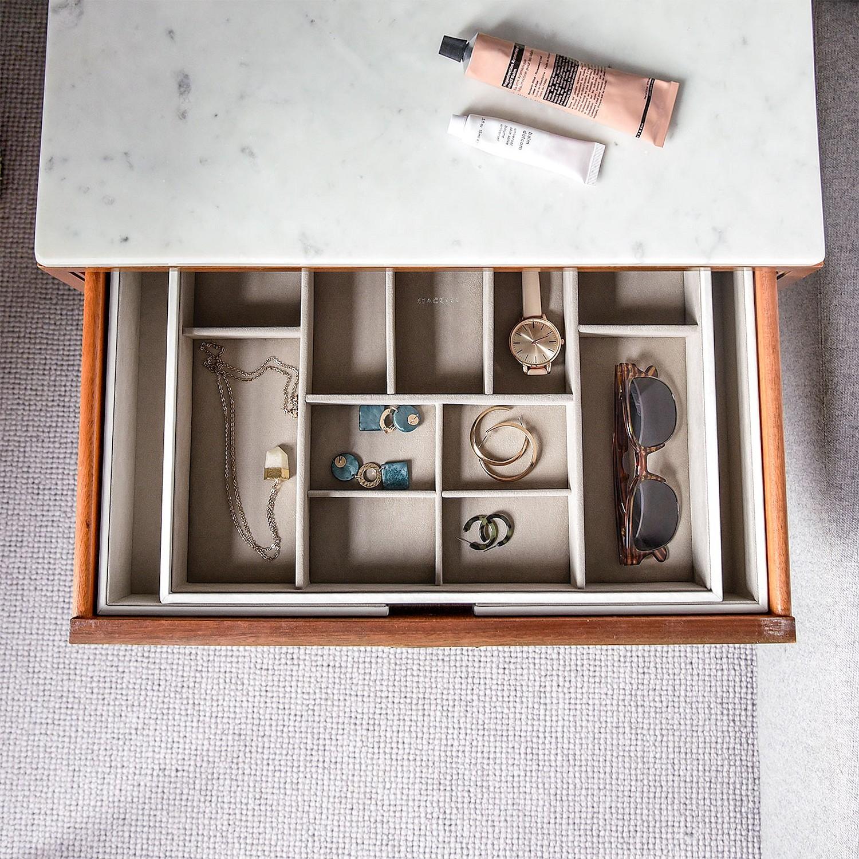 Stackers Stackers L Pojemnik na biżuterię wkład do szuflady
