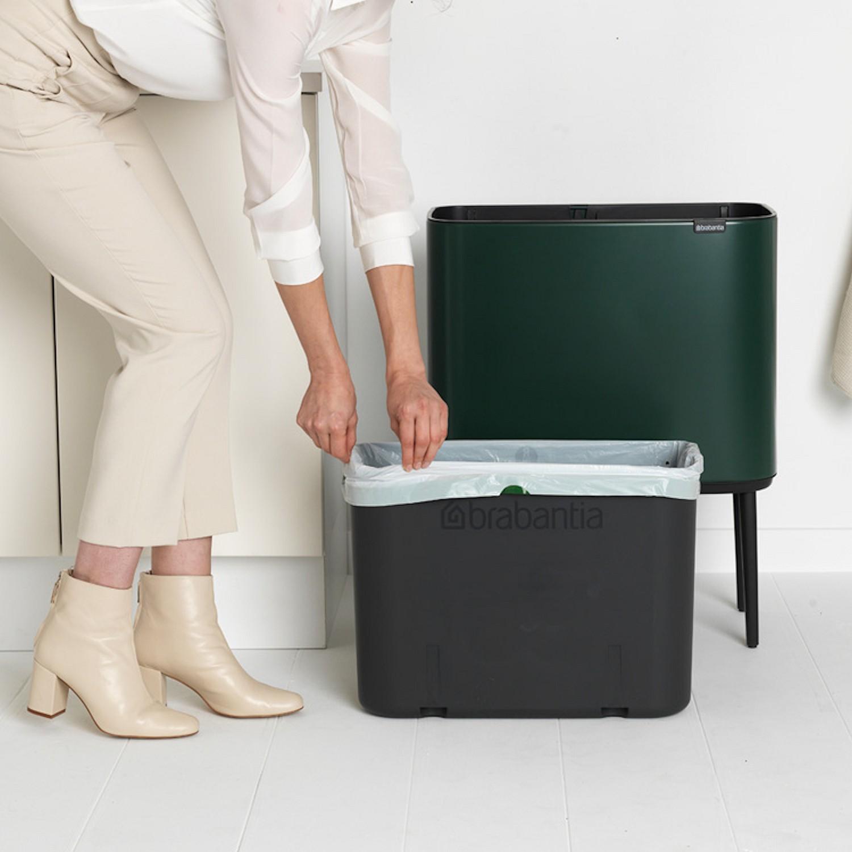 Brabantia BO Touch Bin kosz na śmieci z jednym pojemnikiem