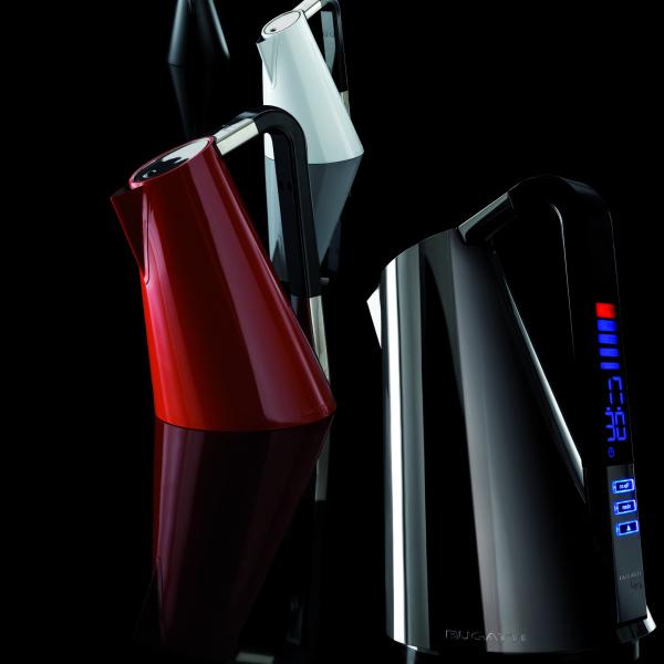 Casa Bugatti Vera czajnik elektryczny, chromowany