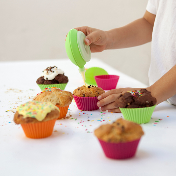 Lekue Celebrat foremki do muffinów, 6 szt