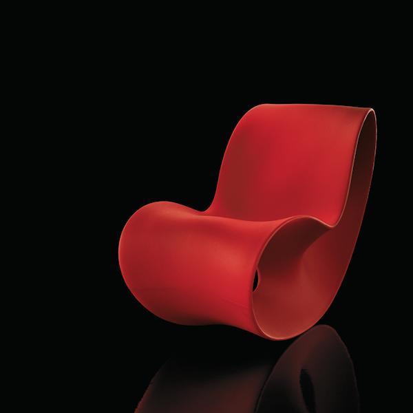MAGIS Voido fotel bujany, kolor pomarańczowy matowy