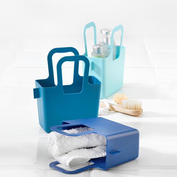 Koziol Taschelino torba na zakupy, średnia, kolor biały