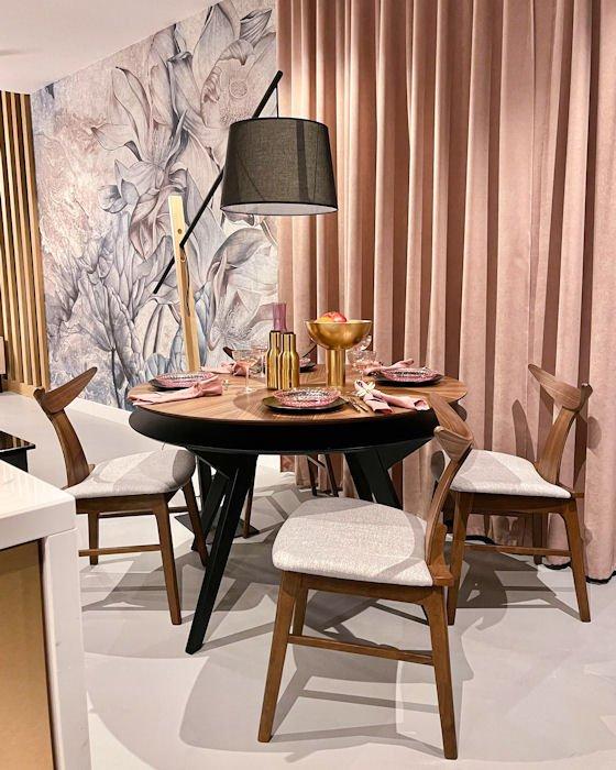 Nowoczesne dodatki w pięknej kuchni