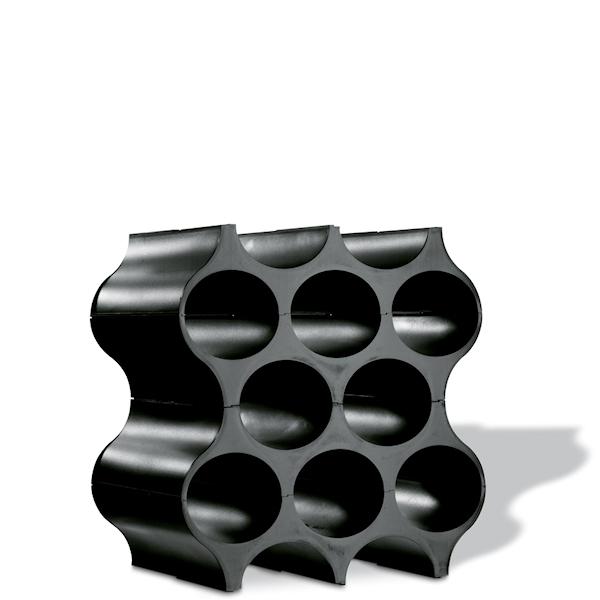 stojak na butelki kolor czarny koziol set up 3596526. Black Bedroom Furniture Sets. Home Design Ideas