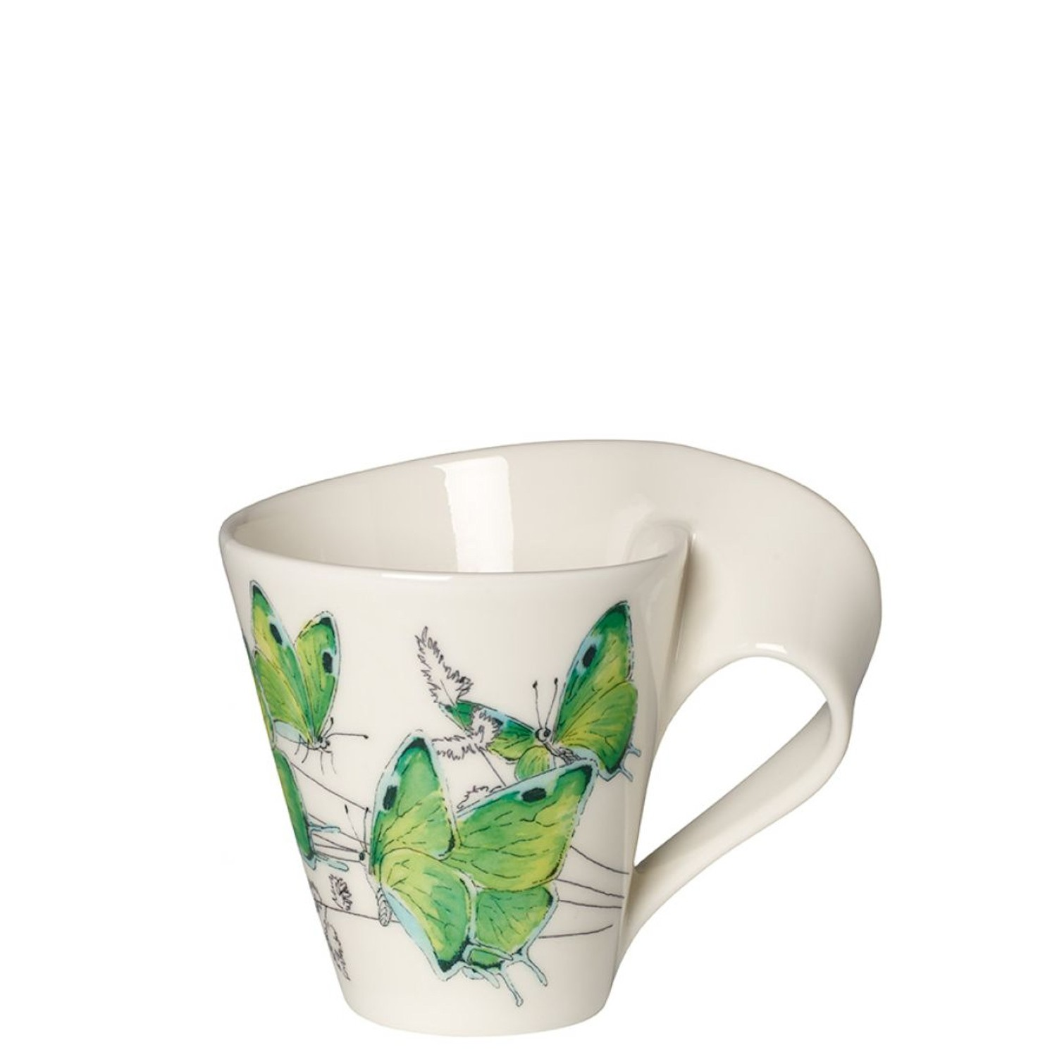 Kubek villeroy boch new wave caffe deep green hairstreak for Villeroy boch wave