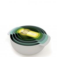 Nest 9 Opal  zestaw misek i miarek 40076