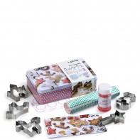 Lekue Princessa zestaw świąteczny do pierniczków