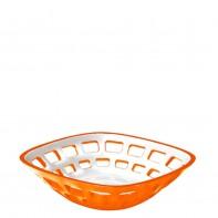 Guzzini Vintage koszyk na pieczywo, pomara�czowy