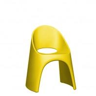 Amelie 59 x 67 x 87 krzesło w kolorze żółtym ame 080 f4