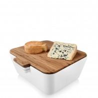 Vacu Vin Bread & Dip chlebak z pojemnikami na dip