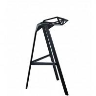 MAGIS Stool One krzes�o barowe �rednie, kolor czarny