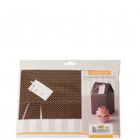 Birkmann Cupcake pudełko prezentowe na 1 cupcake 2 szt
