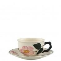 Villeroy & Boch Wildrose fili�anka do herbaty ze spodkiem