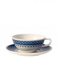 Villeroy & Boch Casale Blu fili�anka do herbaty ze spodkiem