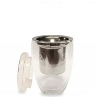 Tea Time pojemność 300ml kubek z zaparzaczem i pokrywką 3593680006