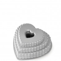 Nordic Ware Tiered Heart forma do ciasta