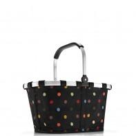 Carrybag pojemność 22l koszyk na zakupy, dots BK7009