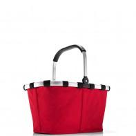 Carrybag pojemność 22l koszyk na zakupy, red BK3004