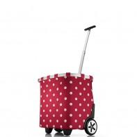 Carrycruiser pojemność 40l wózek, ruby dots OE3014