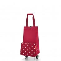 Foldabletrolley pojemność 30l wózek, ruby dots HK3014