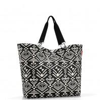 Shopper XL pojemność 35l torba na zakupy, hopi black ZU7034