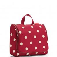 Toiletbag XL pojemność 6l kosmetyczka, ruby dots WO3014