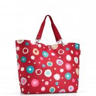 Shopper XL pojemność 35l torba na zakupy, funky dots2 ZU3048